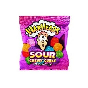 Warheads Sour Chewy Cubes