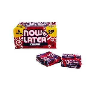 Now and Later-Cherry-6 Pieces