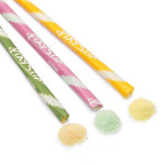 Pixy Stix-Watermelon and Cucumber-4 Pieces