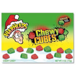 Warheads Chewy Cubes Christmas Box-113 grams