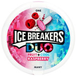 Ice Breakers Duo-bringebær