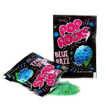 Pop Rocks blå bringebær