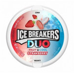Ice Breakers Duo-jordbær