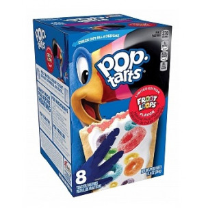 Pop Tarts Frosted Fruit Loops-8 Cakes