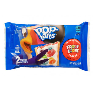 Pop Tarts Frosted Fruit Loops-2 Cakes