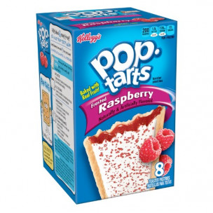 Pop Tarts Frosted Raspberry-8 Cakes