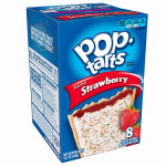 Pop Tarts Frosted Strawberry-8 Cakes