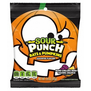 Sour Punch Bats & Pumpkins