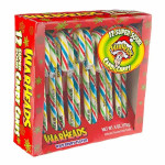 Warheads Candy Canes-12 Pieces