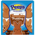Peeps Chocolate Pudding Bunnies-8 påskeharer